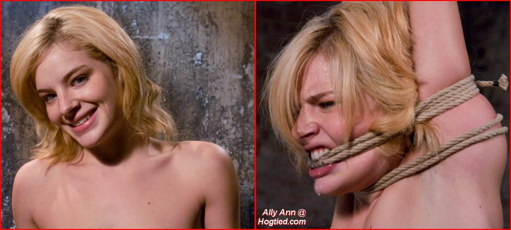 bondage transformation for Ally Ann