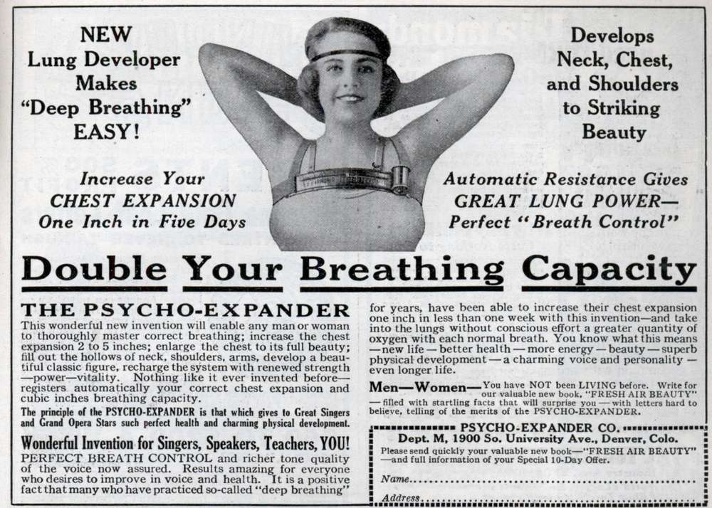 vintage breast enlarger