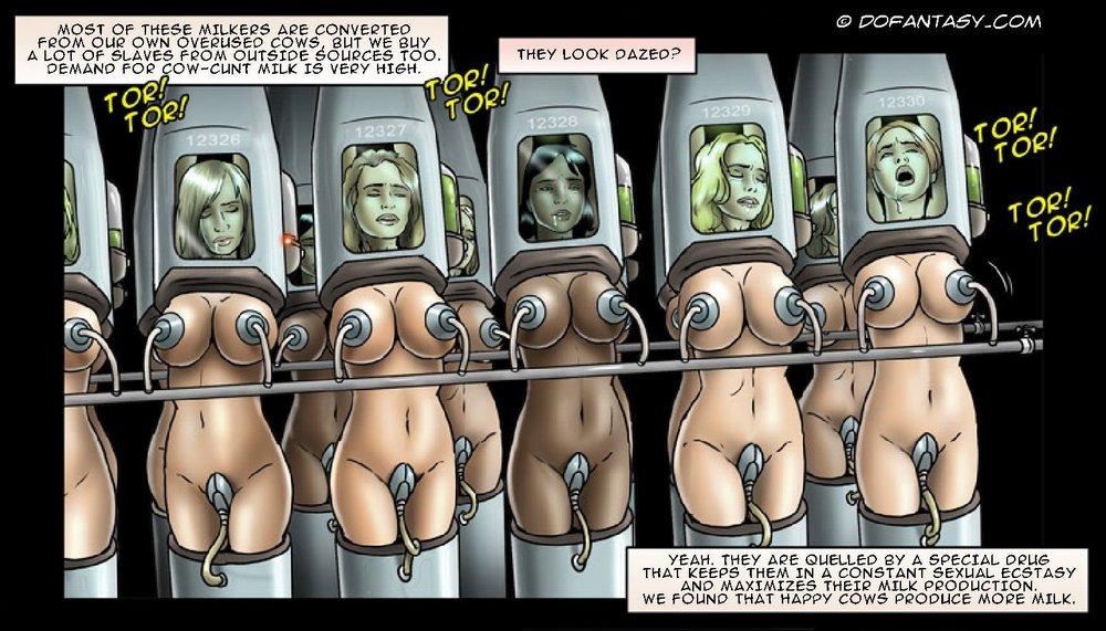 human dairy slaves