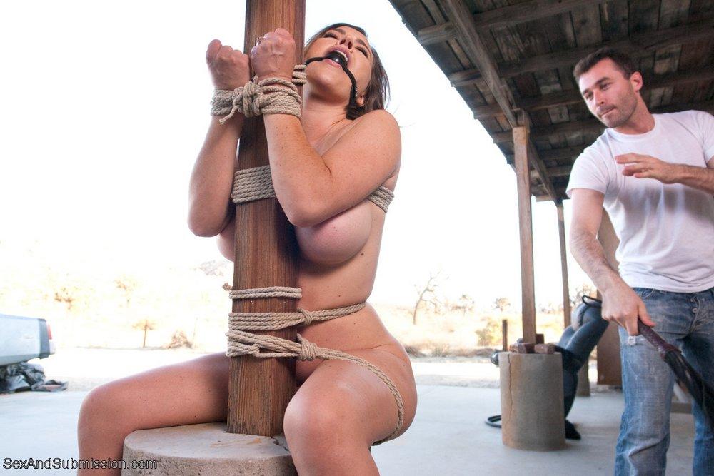 James Deen whipping Krissy Lynn