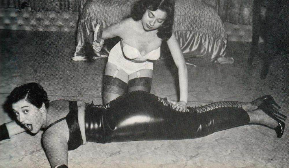 hobble skirt spanking