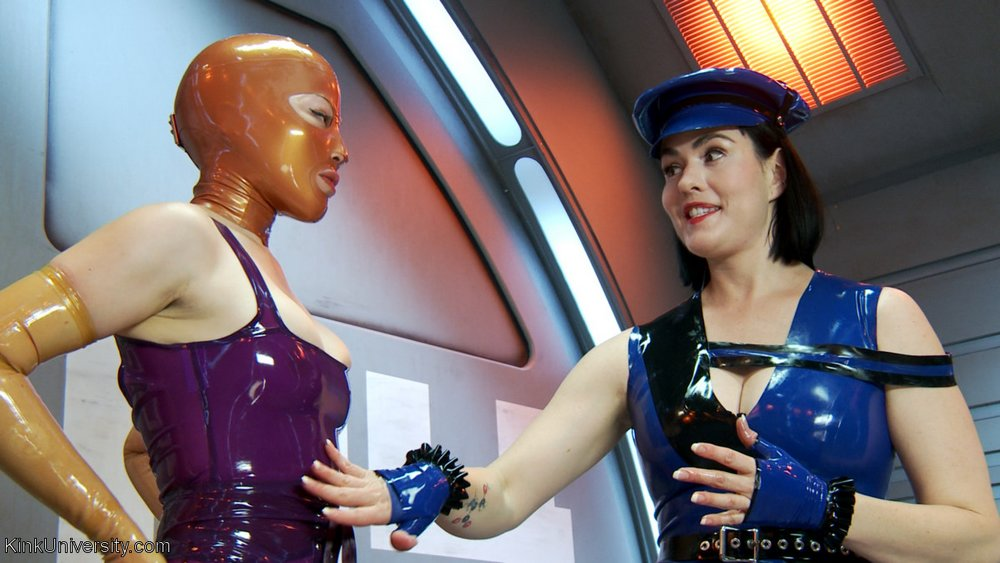 Latex 101 kinky fetish clothing educational video tutorial from Kink University