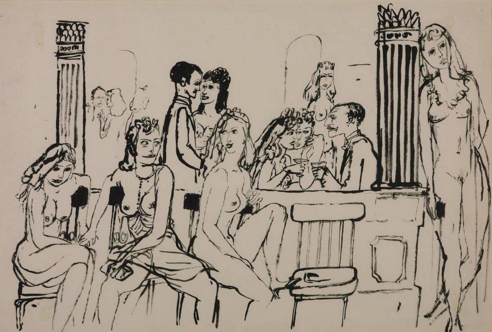 Le Sphinx bordello in Paris 1937 James Boswell