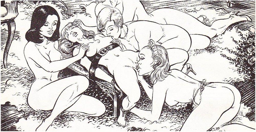 bondage orgy of lesbians
