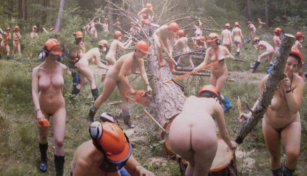 nude lady lumberjacks