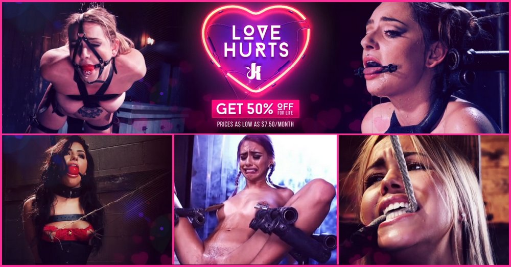 love hurts kink unlimited sale banner
