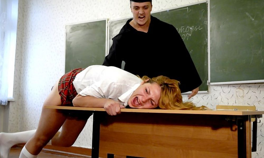 painful discipline in Russian classroom