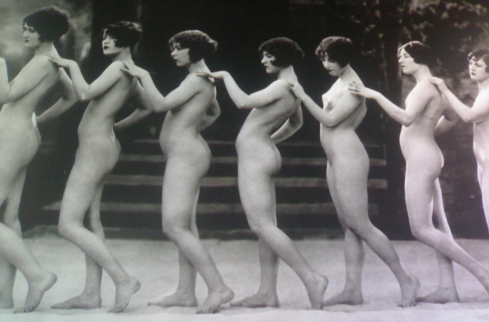 seven vintage nudes