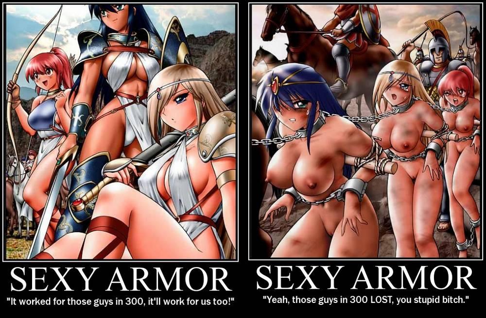 sexy armor