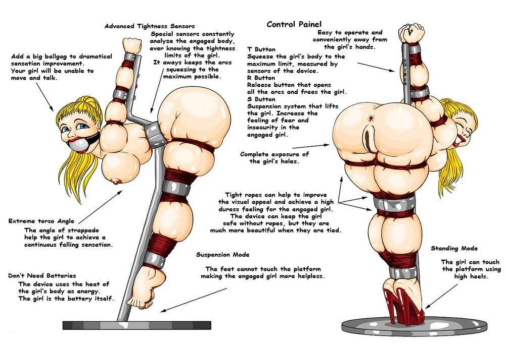 bondage strappado device by gronc
