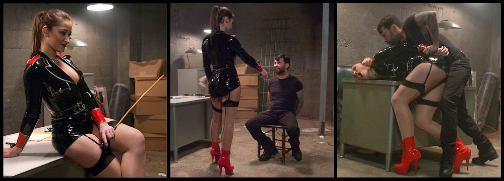 turning the tables on his dominatrix