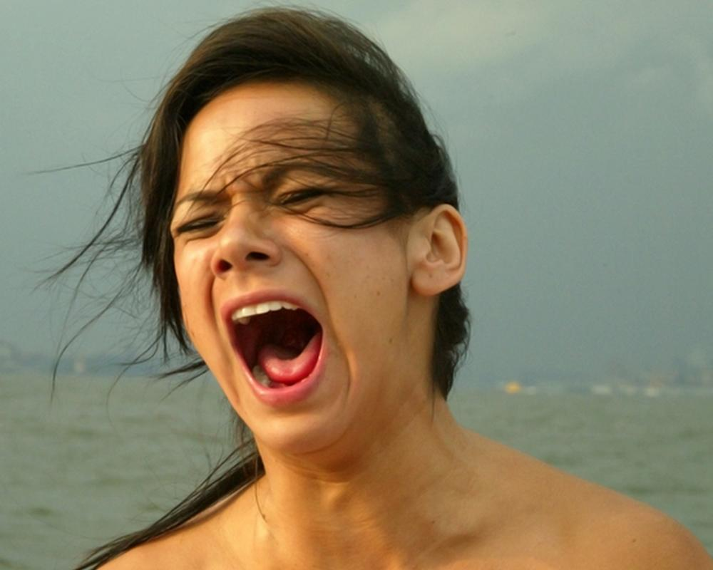 nautical screaming woman