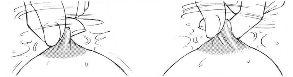 nipple twisting manga