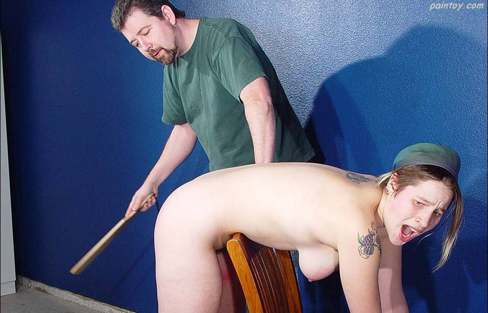 paddling wendy's ass with a wooden paddle