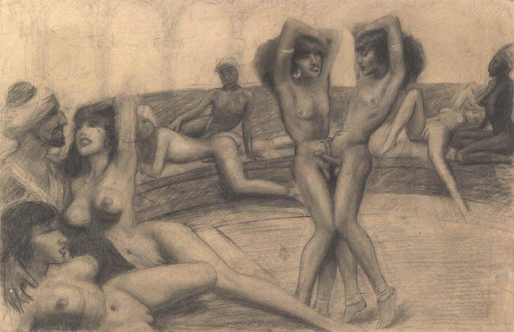 harem orgy