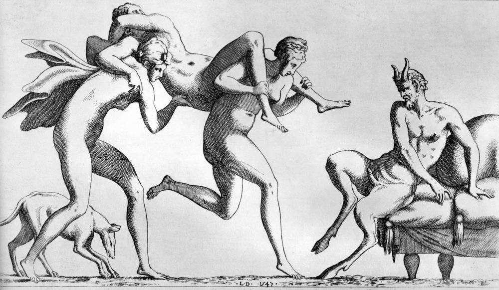 incipient satyr rape